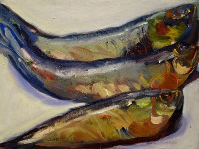 Painting by Benta Hirsh