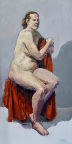 Painting by Richard Keegan