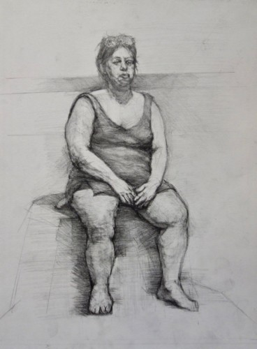 Drawing by Rose Colman