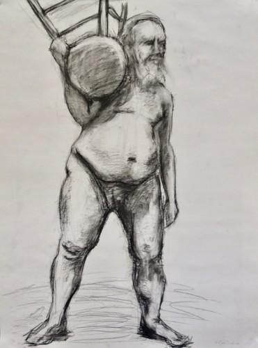 Drawing by Kajsa Daphne