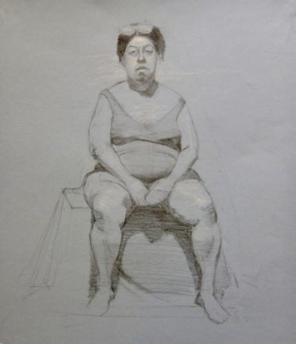 Drawing by Marsha Pickett