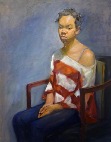 Painting by Joseph Mounaji