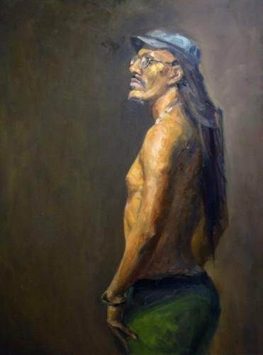 Painting by Janusz Cyskowski