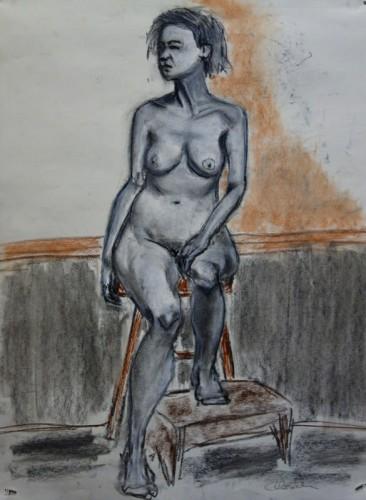 Drawing by Robin Bernstein
