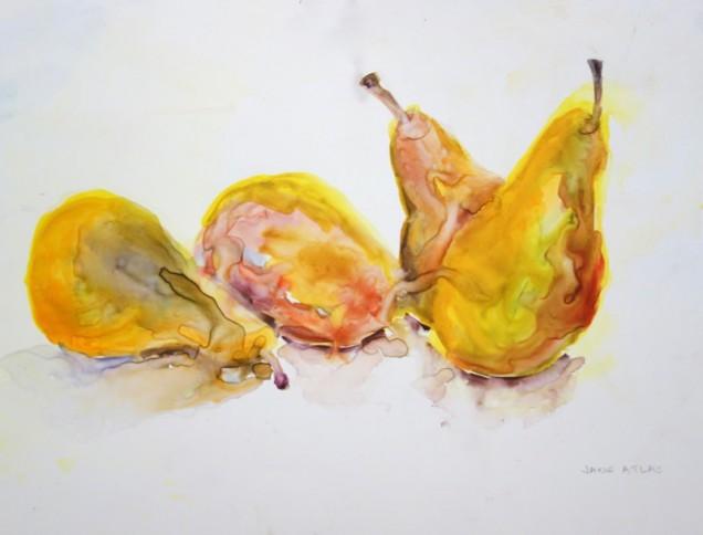 Painting by Jane Atlas