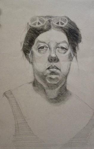 Drawing by Marsha Picket