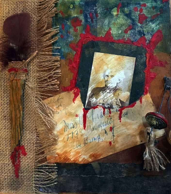 martha bloom collage
