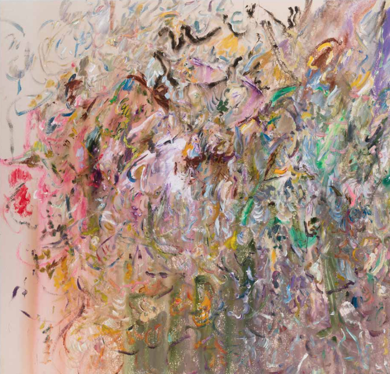 Canvas Santa Fe >> Larry Poons Recent Paintings – LINEA