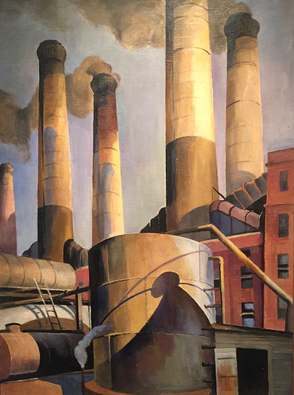 Urban Realism and Old Masters at Lyman Allyn