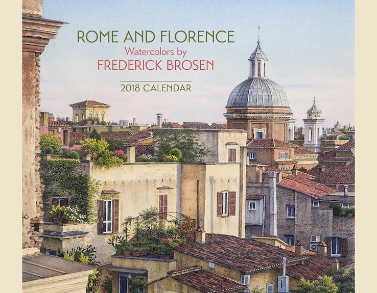Frederick Brosen 2018 Calendar Published by Pomegranite