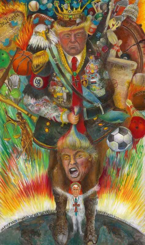Robert Cenedella political art