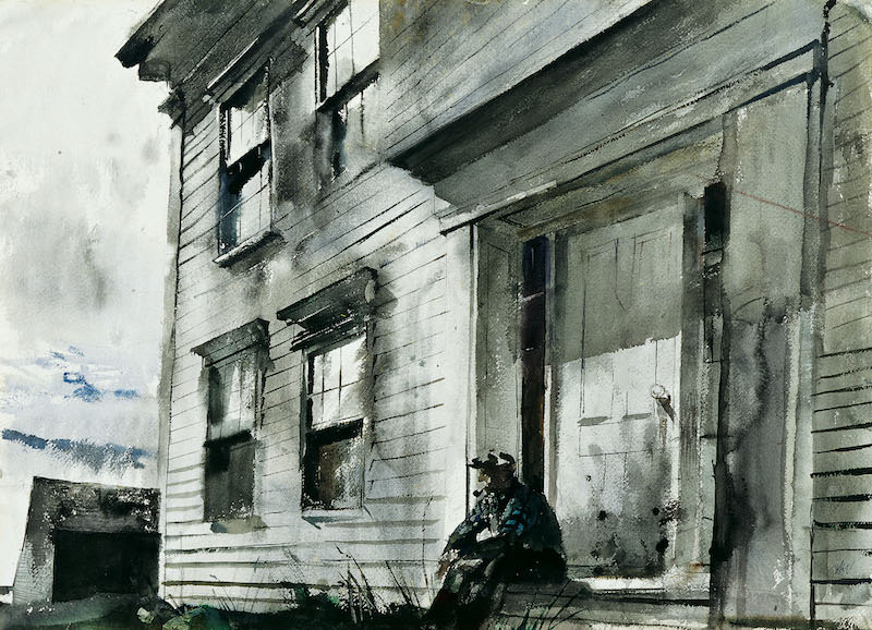 Andrew Wyeth Maine Watercolors