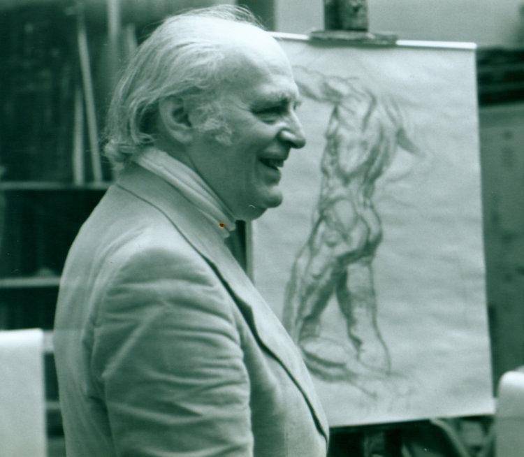 Gustav Rehberger drawing