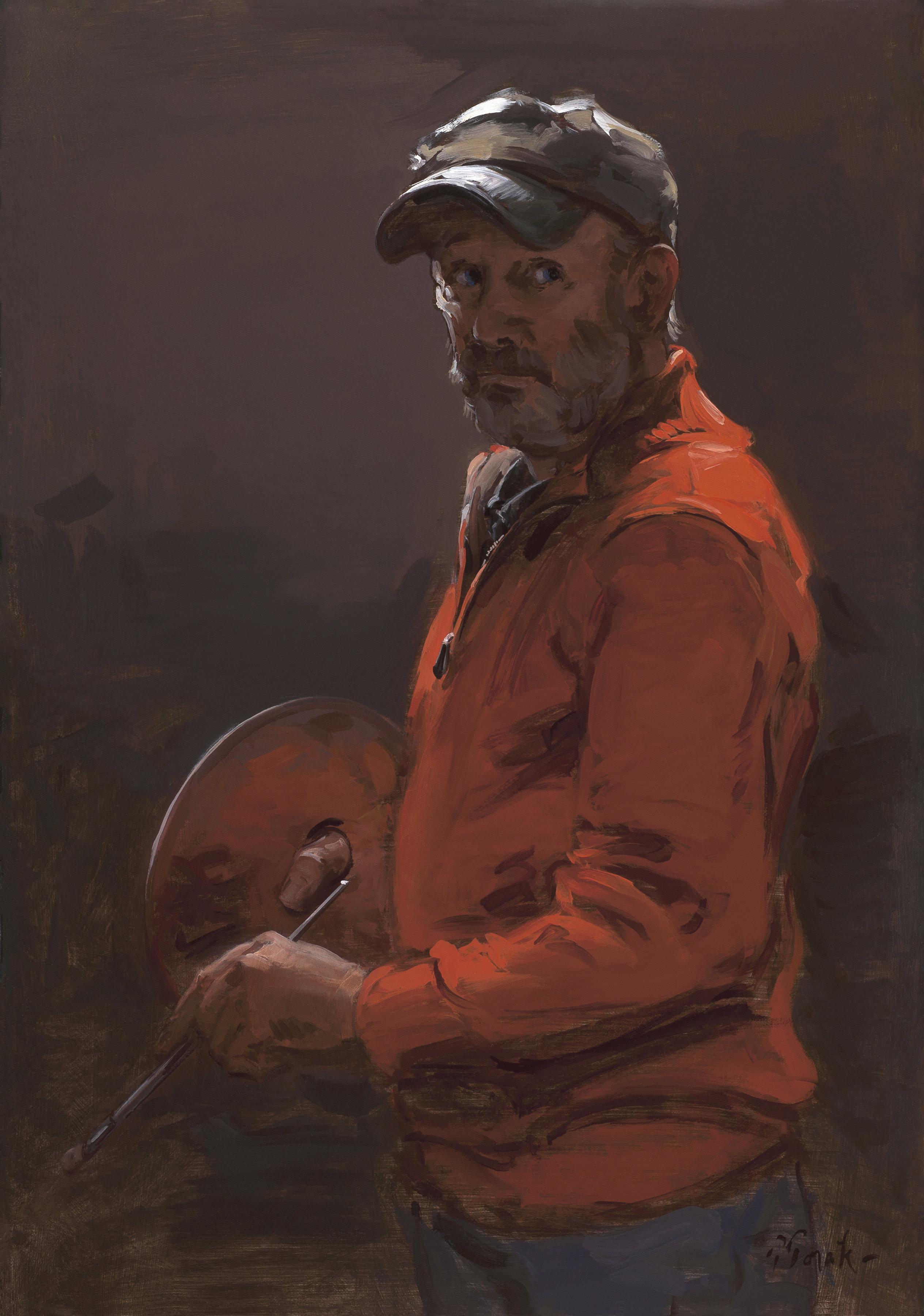 thomas torak self portrait