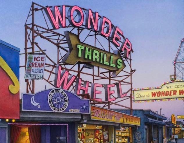 Fredrick Brosen's <I>Wonder Wheel</I> on View at the Park Avenue Armory
