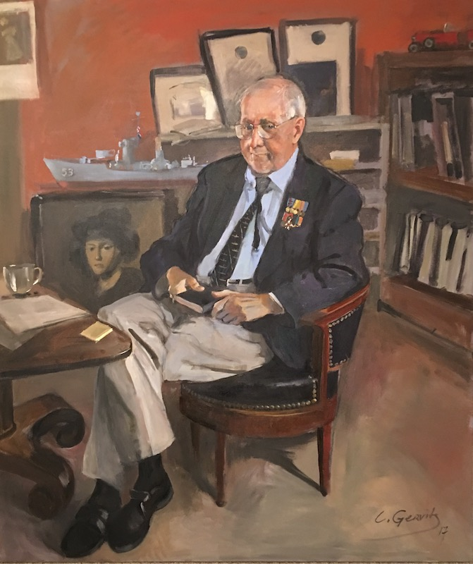 Leonid Gervits' Portrait of John William Middendorf II