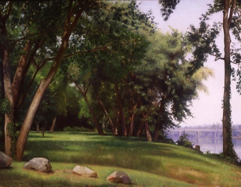 Ephraim Rubenstein painting