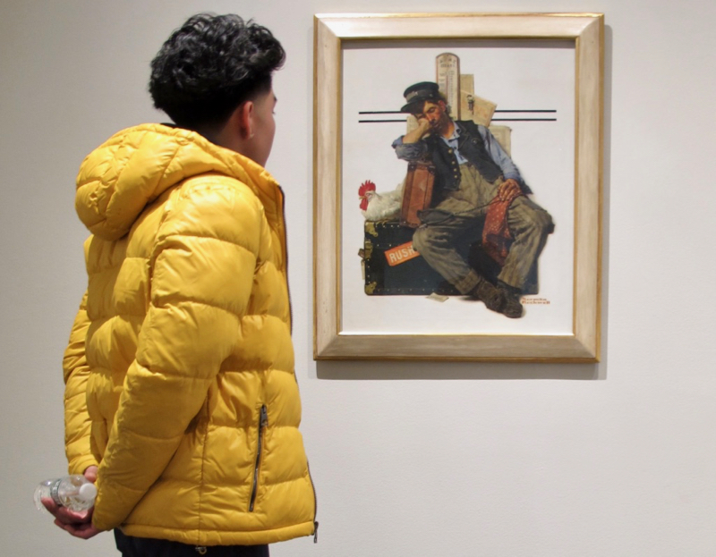 Does Norman Rockwell Belong in the Metropolitan Museum of Art?
