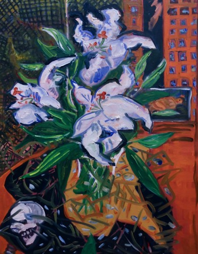 Painting by Katherine Dolgy Ludwig