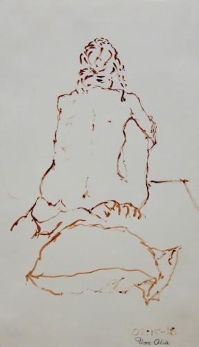 Drawing by Dom Alia