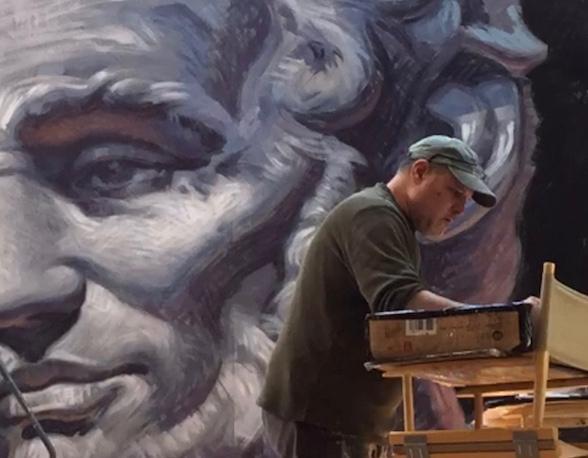 garin baker lincoln mural