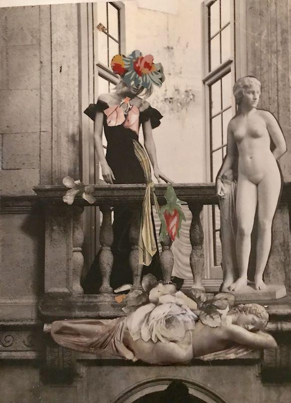 Martha Bloom Collage Assemblage