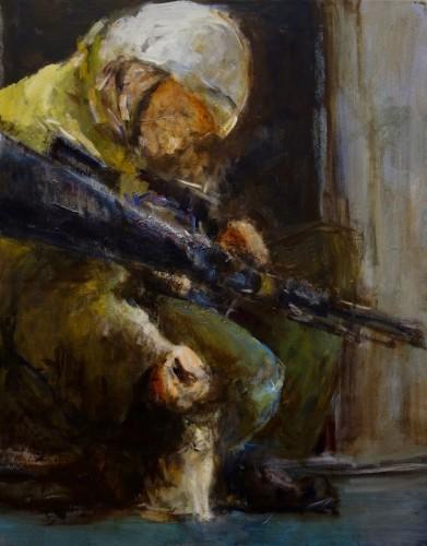 Painting by Barbara Rosenberg