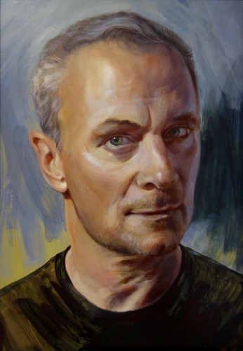 Painting by Karen Berkhardt
