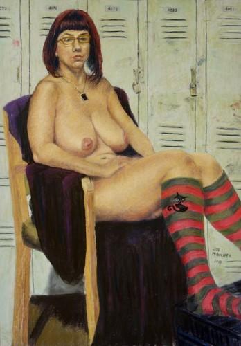 Pastel by Joseph McAuliffe