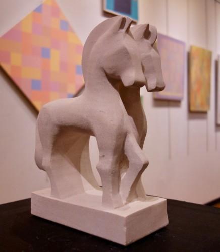 Sculpture by Lou Lalli