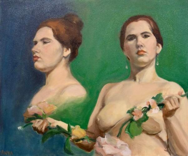 Painting by Anya Andreeva