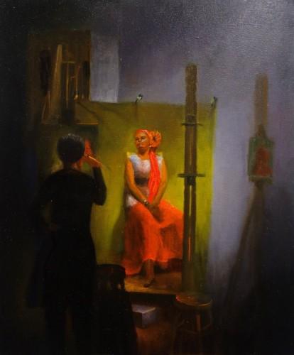 Painting by Armando Acevedo