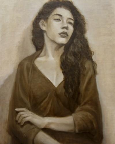 Painting by Chingya Hu