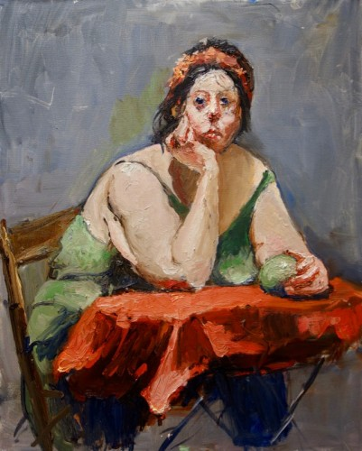 Painting by Ellen Morozowski