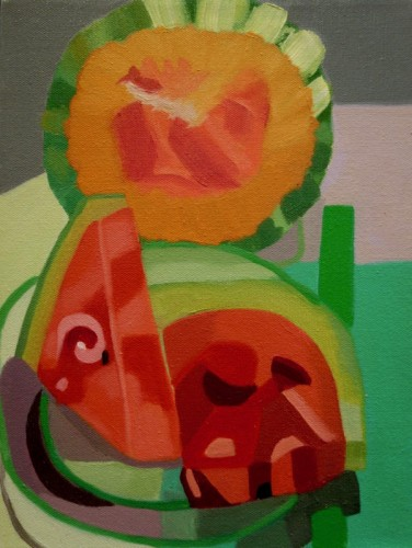 Painting by Esperanza Bonilla