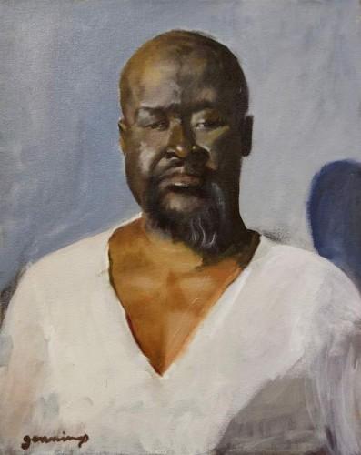 Painting by Pamela Jennings