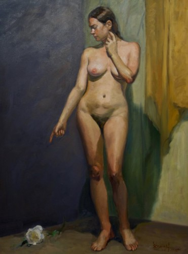 Painting by Yongxi Chen
