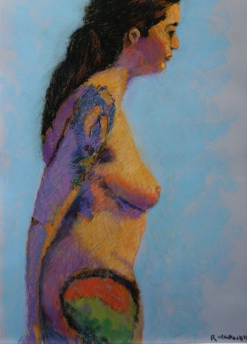 Pastel by Raynor Mitchell Warner