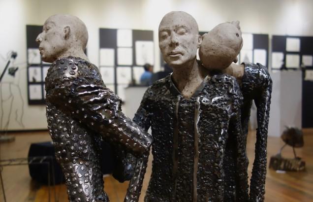 Sculpture (detail) by Carlos Sierra