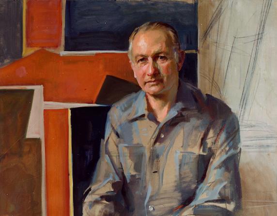 everett Raymond Kinstler portraits
