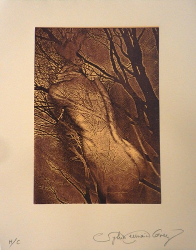 10. Sylvie Covey, laser relief engraving