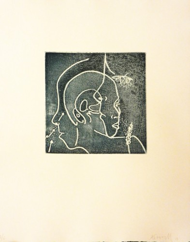 12. Ann Farrell, soft ground etching