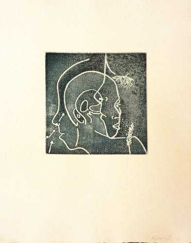12. Ann Farrell, soft ground etching