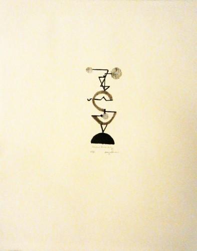 14. RM Gallinari, stone lithograph