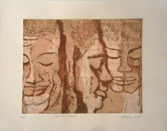 15. Jill Goldin, etching aquatint