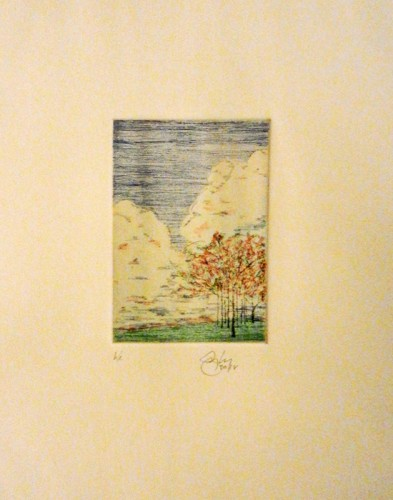 17. Gregory Haley, four-color etching