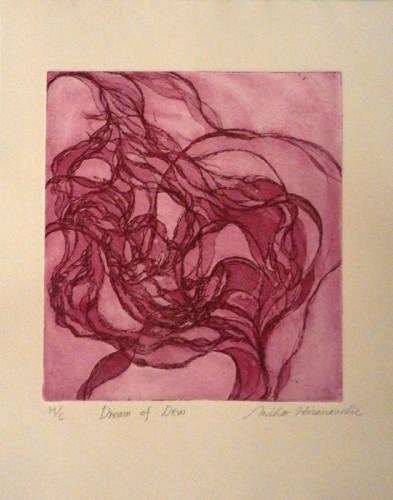 18. Miho Hiranouchi, etching aquatint