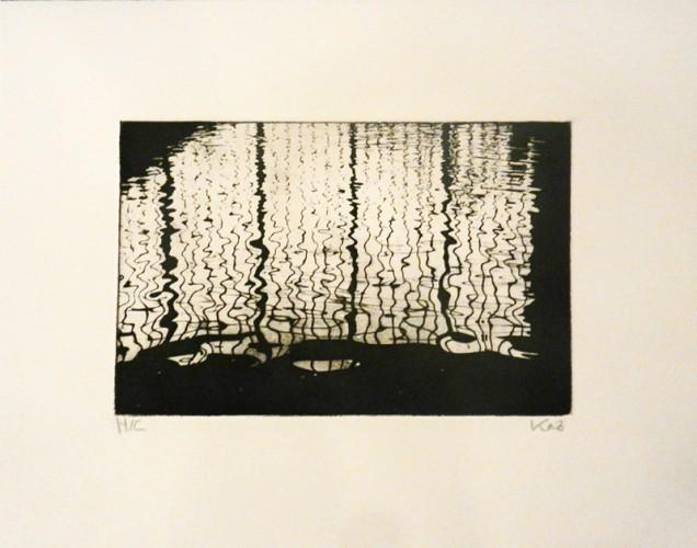 19. Kazuko Hyakuda, photo etching