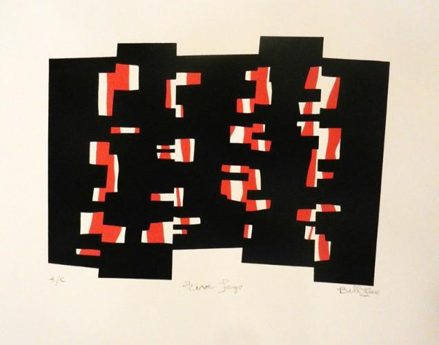 25. Bill Lee, silkscreen