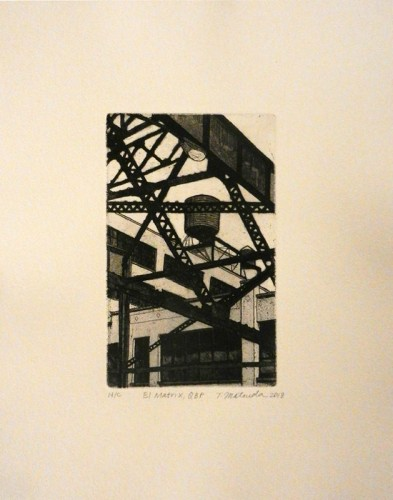 26. Tokoha Matsuda, etching aquatint